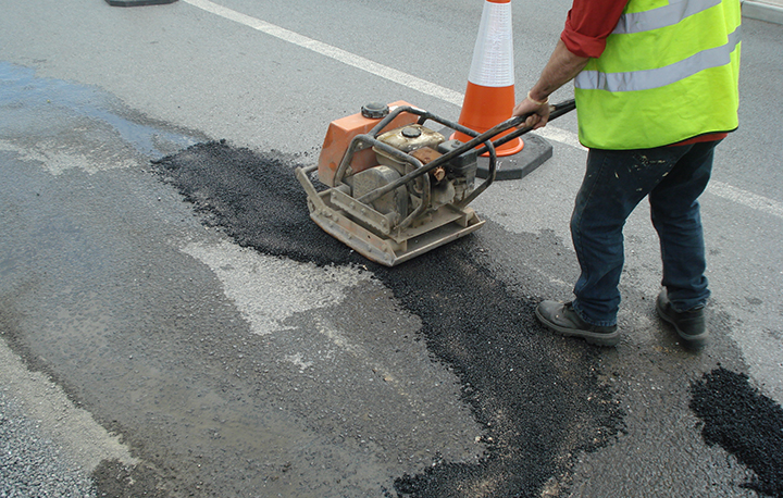 Potholes, overlays & utility cuts